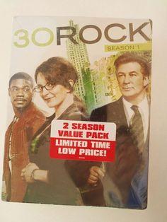 30 Rock: Season 1&2 - 30 Rock:Season 2 Value Pack DVD Box Set NEW Free USA Ship