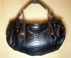 Pauric Sweeney Large Ryder Leather/Python