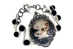 Neo Victorian Steampunk Goth Jewelry  by CatherinetteRings on Etsy