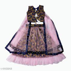 Lehenga Cholis Modern Trendy Kids Girls Lehanga Choli Top Fabric: Cotton Silk Lehenga Fabric: Jacquard Dupatta Fabric: Net Sleeve Length: Short Sleeves Top Pattern: Zari Woven Lehenga Pattern: Zari Dupatta Pattern: solid Stitch Type: Stitched Multipack: 1 Sizes:  4-5 Years (Lehenga Waist Size: 19 in Lehenga Length Size: 20 in Duppatta Length Size: 1.5 m)  3-4 Years (Lehenga Waist Size: 19 in Lehenga Length Size: 20 in Duppatta Length Size: 1.5 m)  7-8 Years (Lehenga Waist Size: 19 in Lehenga Length Size: 20 in Duppatta Length Size: 1.5 m)  9-10 Years (Lehenga Waist Size: 19 in Lehenga Length Size: 20 in Duppatta Length Size: 1.5 m) Country of Origin: India Sizes Available: 3-4 Years, 5-6 Years, 7-8 Years, 9-10 Years   Catalog Rating: ★4.2 (478)  Catalog Name: Modern Trendy Kids Girls Lehanga Cholis CatalogID_1065271 C61-SC1137 Code: 936-6682262-6171