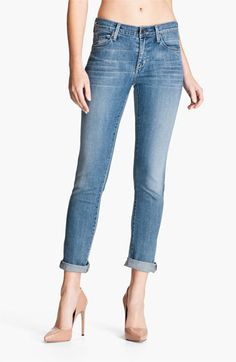 Citizens of Humanity 'Mandy' Slim Straight Leg Jeans (Crystal) available at #Nordstrom