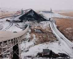 David T. Hanson, Coal storage area and railroad tipple
