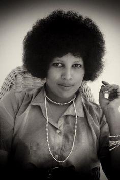 A Somali woman. Mogadishu, Somalia; 1979.