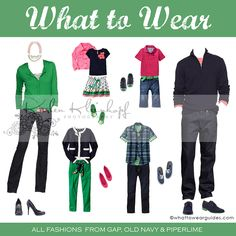 What to Wear Guides .  These are AWESOME!!!  This is for Spring/March