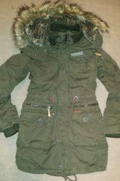 khujo Mangala Damen Winter Parka Mantel Jacke gefuettert
