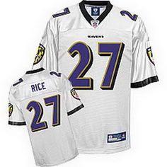 Baltimore Ravens 27 Ray rijst wit truien uit China