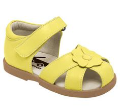 See Kai Run - Willa in Yellow. View our current collection of girls' sandals now at seekairun.com