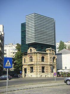 Bucuresti by Guillaume Daudin, via Flickr   my favourite Bucharest Romania, Multi Story Building, Landscape, History, Country, Amazing, Fun, Travel, Romania