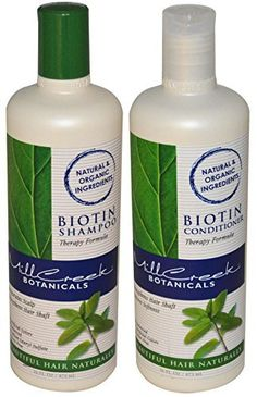 Mill Creek Biotin Shampoo and Conditioner For Hair Growth Bundle