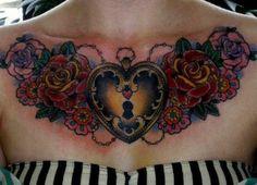 Tatuajes en el Pecho para Chicas.