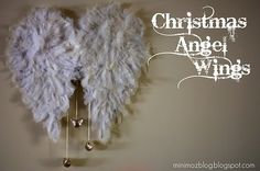 DIY angel wings from cardboard (from minimoz) by madge