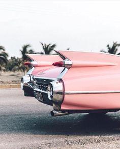 Coral Pink Car