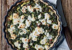 Nr. 10 – Grønkålstærte med gedeost og panchetta