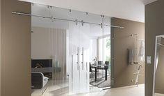 Sliding Glass Doors -Made to Measure - modern - Internal Doors - East Anglia - Doors4UK - Made to Measure Doors