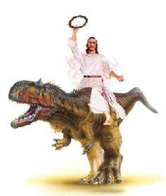 Os dinossauros dominaram a Terra durante cerca de 150 milhões de anos.    Mas não são mencionados na bíblia. Estranho não?  Mais fotos de Ateísmo no G+