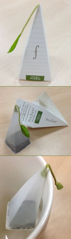 Tea packaging from Tea Forte