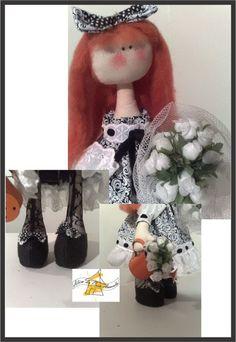 Boneca Lily - PAP Cabelo longo/franja