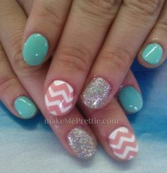 Don't like the shape of the nails! But sooooo cute!