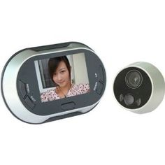 Visual Doorbell/ Peephole Viewer/ Doorbell Viewer - Digital Video 3.5 Inch LCD Take Photo Display Wide Visual Angle Viewer Doorbell Peep Hole Peephole Door Viewer by OEM. $85.00. visual doorbell/ Peephole Viewer/ doorbell Viewer - Digital Video 3.5 inch LCD take photo display wide visual angle viewer Doorbell Peep Hole PeepHole Door Viewer   Main features:  1. Peephole barrel (diameter):12-30mm  2. Fits any door: 42-72 or 60-90mm (thickness)  3. Screen will automatically ...