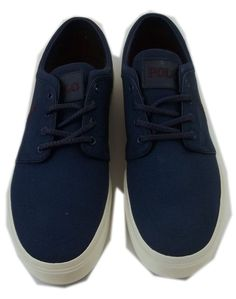 separation shoes 887b5 4baaa Polo RalphLauren Mens Faxon Low Size 13 D Observer Blue Canvas Sneakers  in
