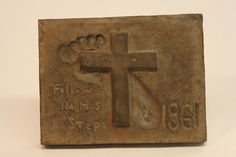 Class of 1961 bronze time capsule cover Class Design, Time Capsule, Bronze, Display, Cover, Floor Space, Billboard