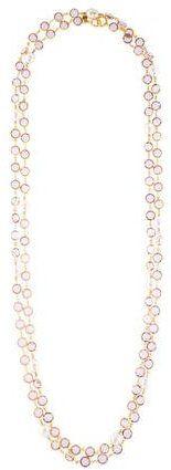 Chanel Crystal & Faux Pearl Sautoir Necklace http://shopstyle.it/l/cCIJ