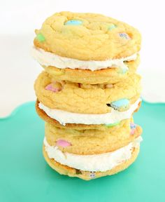 Easter Double Doozie Cookie Sandwiches