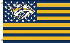 Nashville Predators Stars and Strips 016766 Flying Flag 3x5 Feet >>> Be sure to check out this awesome product.