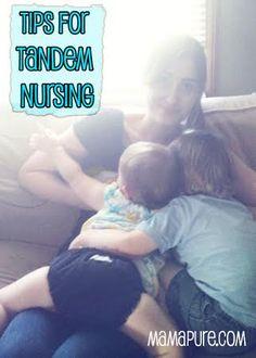 Tips For Tandem Nursing #breastfeeding