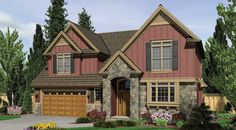 Elmore+House+Plan+%2D+5946 ***COTTAGE, CRAFTSMAN---SO MANY DIFFERENT COLORS.***