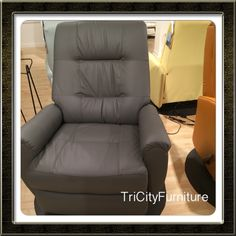 Leather like fabric allows you to sit at a comfortable temperature all year long!