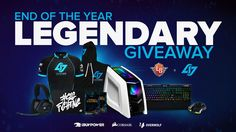 End of the Year Legendary Giveaway