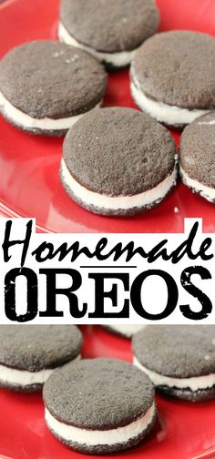 Homemade Oreos are a surprisingly easy cookie to make and a delicious dessert with coffee too!