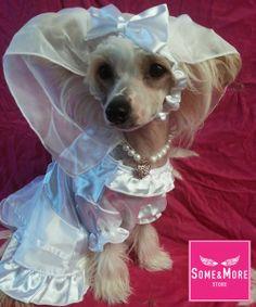 #morsian #wedding #dogclothes #koirankorut http://www.somemore.fi/tuotteet.html?id=2/