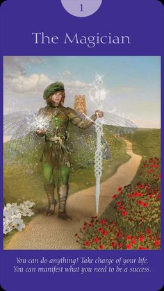 Fairy Tarot Cards By Doreen Virtue and Radleigh Valentine Doreen Virtue, The Magician Tarot, Angel Guidance, Oracle Tarot, Angel Cards, Card Reading, Numerology, The Magicians, Universe