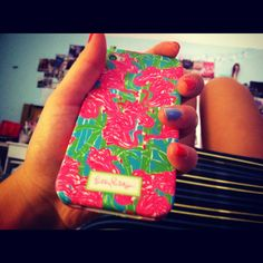 lily pulitzer iphone case