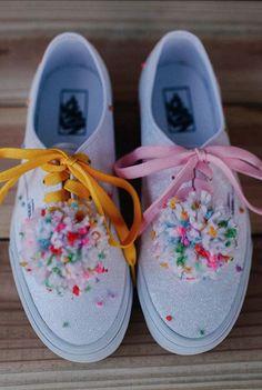 Shoes by 2018 Vans Custom Culture Ambassador, Charlavail.