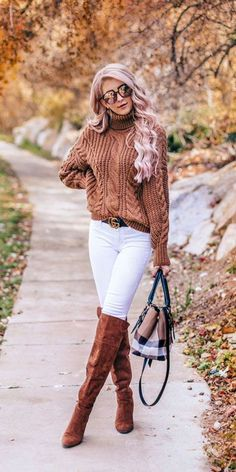23 Super Stylish Fall Fashion Ideas for Women over 30 - Hi Giggle! 23 Super Stylish Fall Fashion Ideas for Women over 30 - Hi Giggle! 23 Stylish Fall Fashion Ideas for Women Over We've taken the liberty of compiling a list of fall outfit ideas for wome Cute Fall Outfits, Winter Fashion Outfits, Casual Summer Outfits, Fall Fashion Trends, Fall Winter Outfits, Look Fashion, Autumn Fashion, Womens Fashion, Fashion Ideas