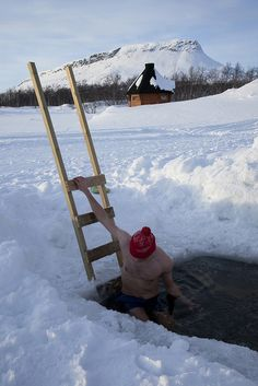 Ice swimming in Finland by Visit Finland, via Flickr