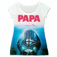 Ghost PAPA JAWS SUBLIMATED WOMENS TEE $25