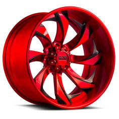 Grid Offroad Custom Red and Black Brushed Finish Wheels Jeep Rims, Truck Rims, Truck Wheels, 57 Chevy Trucks, Custom Chevy Trucks, Chrome Cars, Chrome Wheels, Rims And Tires, Rims For Cars