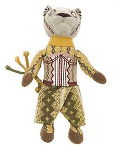 """The Nala beanbag doll is based on Julie Taymore's original stage show costume designs for Disney's Lion King the Musical. Measures 9"""" High, 3"""" Wide, 2 1/2"""" Deep."""