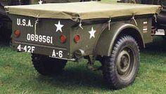 Image result for Model willys jeep trailer