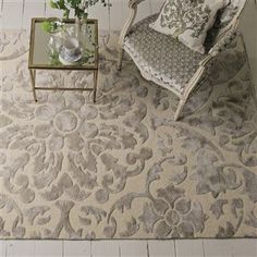Royal Collection Cabochon Chalk Rug | Designers Guild