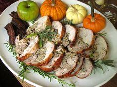 A New Kind of Thanksgiving Turkey - de-boned in one piece for dark & light meat