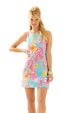 Cathy Shift Dress - Lilly Pulitzer. Breakwater Blue Lolita $178