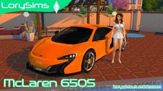 McLaren 650S at LorySims via Sims 4 Updates Check more at http://sims4updates.net/cars/mclaren-650s-at-lorysims/