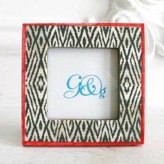 Painted Bone Frame - View All Home Accessories - Treat Your Home - Home Accessories