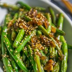 These are the easiest and tastiest way ot make green beans - garlic chinese green beans! These are the easiest and tastiest way ot make green beans - garlic chinese green beans! Vegetable Dishes, Vegetable Recipes, Vegetarian Recipes, Cooking Recipes, Healthy Recipes, Cooking Tips, Chinese Food Vegetarian, Yummy Recipes, Skillet Recipes