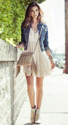Denim & Dresses | GUESS.com  This is my cousin Rachel!!!!!